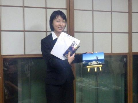 63代会計 佐藤由梨さん