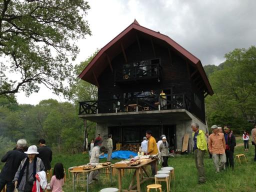 京大山岳部山小屋