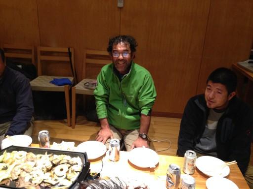 本会幹事で二本松市在住の35代渡辺仁さん