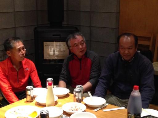 22代土屋さん、30代川相さん、31代小山田さん