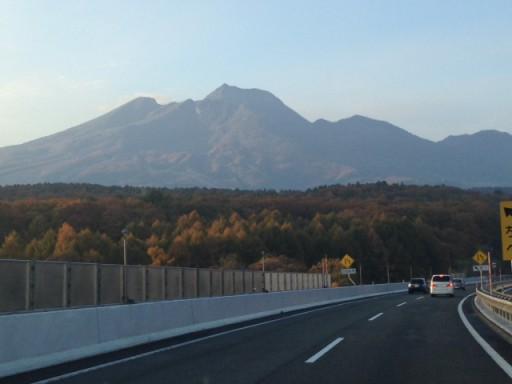 関川近辺から臨む妙高山
