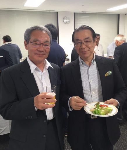 23代菊地さんと田島部長