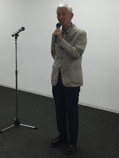 17代川崎さん退任挨拶