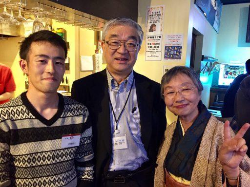 4年中嶋君と19代左近允さん、同藤井さん
